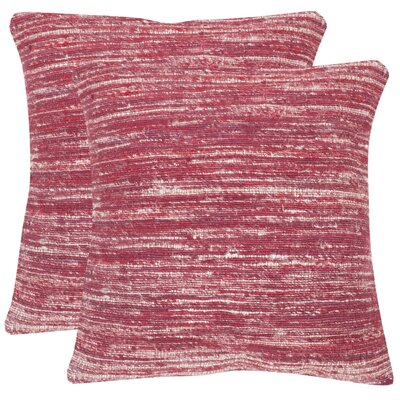 Hory Throw Pillow Color: Pixie Red