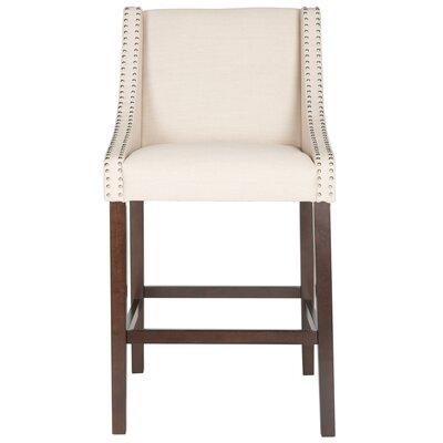 29.5 Bar Stool Upholstery: Beige