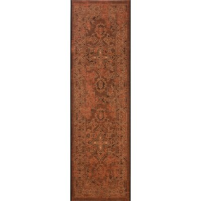 Censier Black/Cream Area Rug Rug Size: 2 x 73