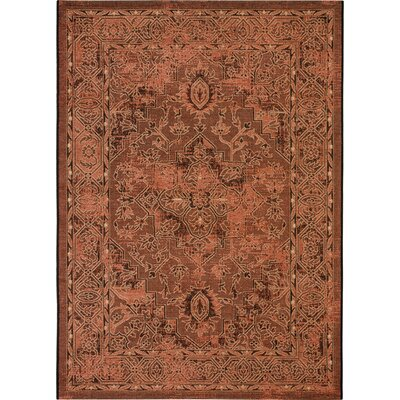 Dixon Black/Cream Area Rug Rug Size: Rectangle 8 x 11