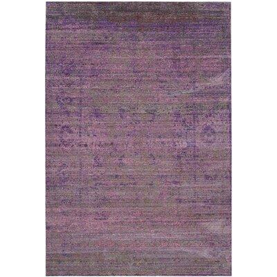 Doline Lavander Area Rug Rug Size: 4 x 6