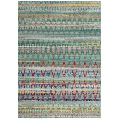 Doline Light Blue Area Rug Rug Size: Rectangle 4 x 6