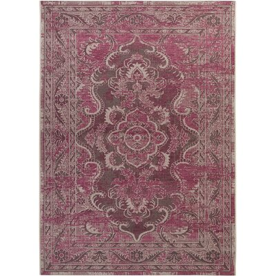 Dixon Light Gray & Anthracite Area Rug Rug Size: 8 x 11