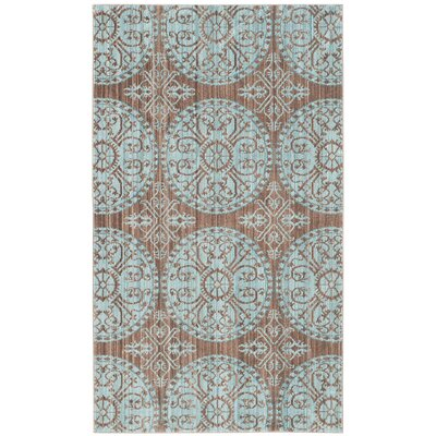 Regis Brown/Alpine Area Rug Rug Size: Rectangle 3 x 5