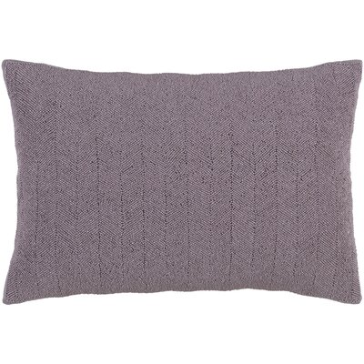 Harbor Cotton Lumbar Pillow Color: Mauve