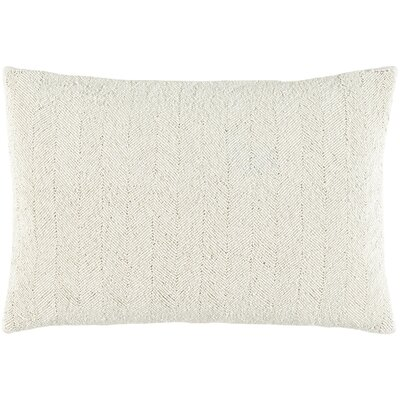Harbor Cotton Lumbar Pillow Color: Light Gray