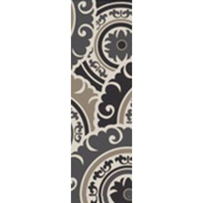 Ramgan Hand-Tufted Gray Area Rug Rug Size: Runner 26 x 8