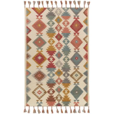 Garza Hand-Woven Multi Color Area Rug Size: Rectangle 5 x 76