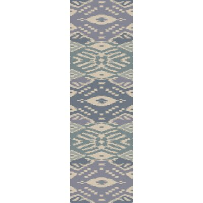 Hays Hand-Woven Slate Area Rug Rug Size: Runner 26 x 8