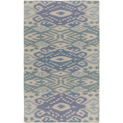 Hays Hand-Woven Slate Area Rug Rug Size: Rectangle 5 x 76