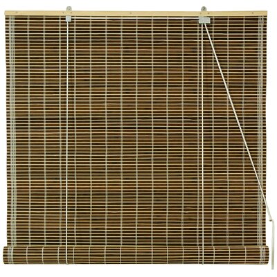 Unique Bamboo Roll-Up Shade Size: 60 W x 72 L, Color: Olive Green