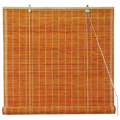 Unique Bamboo Roll-Up Shade Size: 24 W x 72 L, Color: Honey