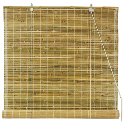 Unique Bamboo Roll-Up Shade Size: 72 W x 72 L, Color: Natural