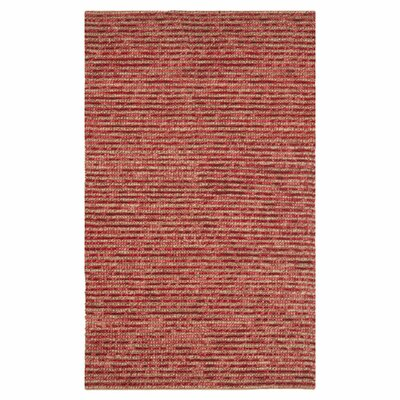 Romero Red Area Rug Rug Size: Rectangle 4 x 6