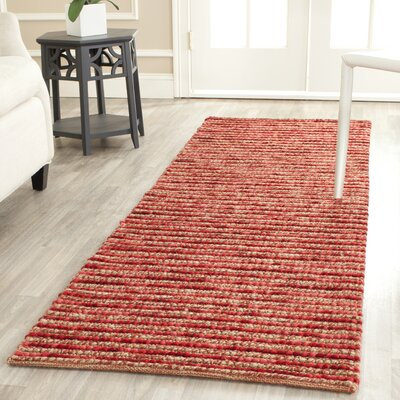 Romero Red Area Rug Rug Size: Runner 26 x 8