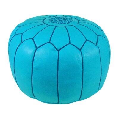 Carolos Pouf Upholstery: Sky Blue