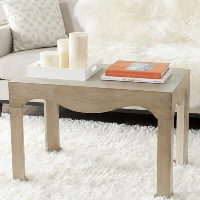 Dunlin Coffee Table Color: Grey