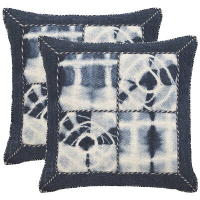 Tarnby Quartre Patch Decorative Throw Pillow Size: 20