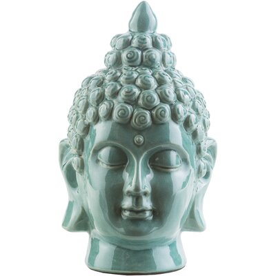 Gladsaxe Buddha Bust Color: Teal