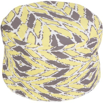 Stein Pouf Ottoman Upholstery: Yellow