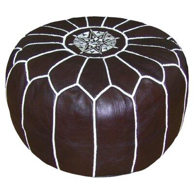 Carolos Pouf Upholstery: Chocolate