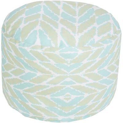 Stein Pouf Ottoman Upholstery: Light Green
