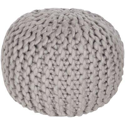 Jabari Sphere Pouf Ottoman Upholstery: Gray