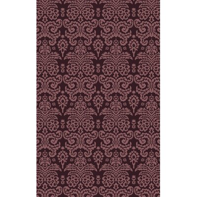Kessel Hand-Tufted Purple Area Rug Rug Size: 9 x 13