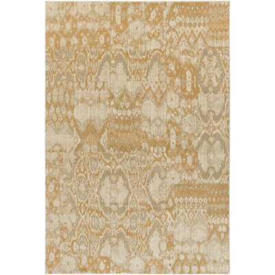 Kerkrade Beige Area Rug Rug Size: Rectangle 53 x 73