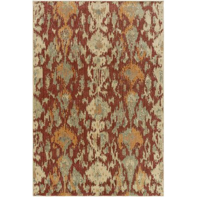 Kerkrade Brown/Gray Area Rug Rug Size: Rectangle 53 x 73