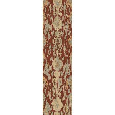 Kerkrade Brown/Gray Area Rug Rug Size: Runner 27 x 73