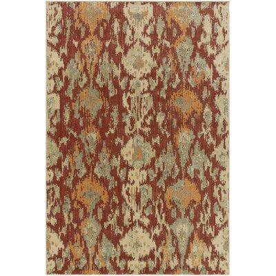 Kerkrade Brown/Gray Area Rug Rug Size: 53 x 73