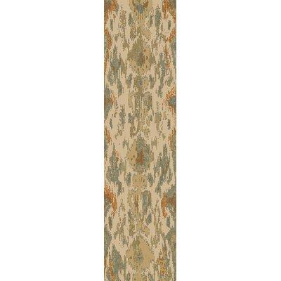 Kerkrade Gray/Beige Area Rug Rug Size: Runner 27 x 73