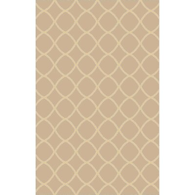 Ravenstein Hand-Woven Brown Area Rug Rug Size: 8 x 10