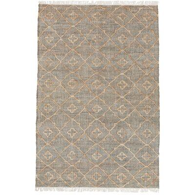 Ravenstein Hand-Woven Gray Area Rug Rug Size: 9 x 13