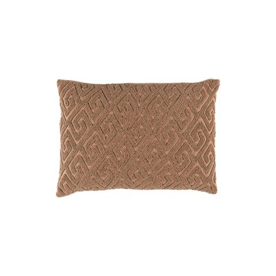 Galvan Lumbar Pillow Color: Mocha/Rust
