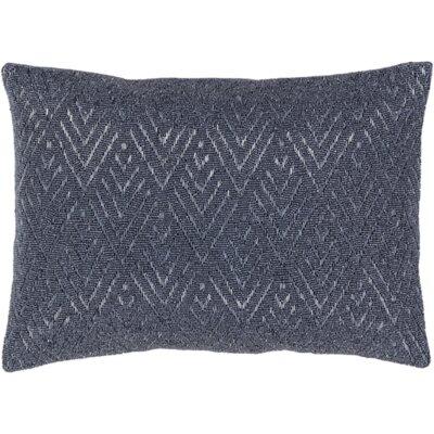 Gigi Down Lumbar Pillow Color: Gray