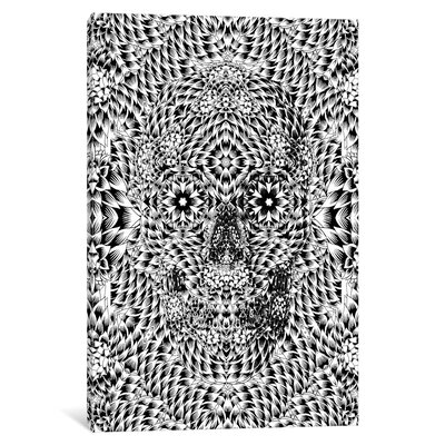 Skull VII by Ali Gulec Graphic Art on Wrapped Canvas Size: 26