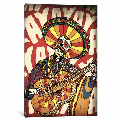 Mariachi by Ali Gulec Graphic Art on Wrapped Canvas