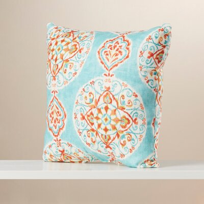 Debbagh Throw Pillow Size: 16.5 W x 16.5 D