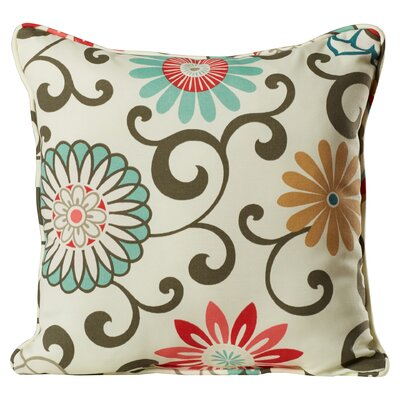 Chance Floral Indoor/Outdoor Throw Pillow