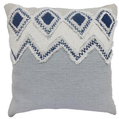 Othmane Embroidered Cotton Throw Pillow