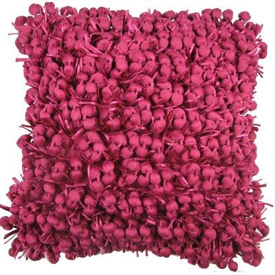 Heerlen Throw Pillow Color: Fuchsia