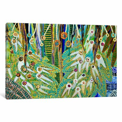 Twenty Eyes Alta Painting Print on Wrapped Canvas Size: 40