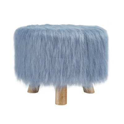 Elington Ottoman Upholstery: Dusty Blue