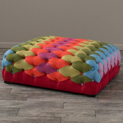 Abidi Patch Cocktail Ottoman