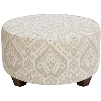 Flores Round Cocktail Upholstered Ottoman