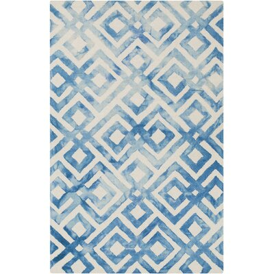 Koga Hand-Woven Area Rug Rug Size: Rectangle 4 x 6
