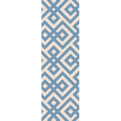 Koga Hand-Woven Area Rug Rug Size: Runner 26 x 8