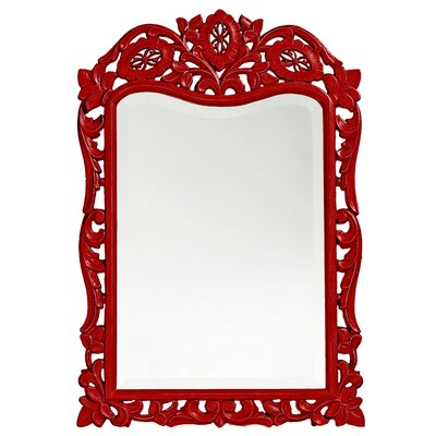 Oui-poin Wall Mirror Finish: Red